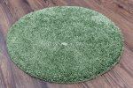 Shaggy soft green (zöld) kerek szőnyeg 100cm