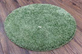 Shaggy soft green (zöld) kerek szőnyeg 67cm