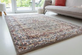 Super sultan 156 brown (barna-bézs) szőnyeg 80x250cm