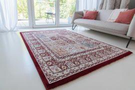 Super sultan 3415 red cream (bordó-krém) szőnyeg 80x150cm