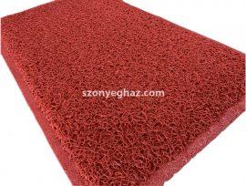 Szenyfogó piros gumis lábtörlő 50x80cm