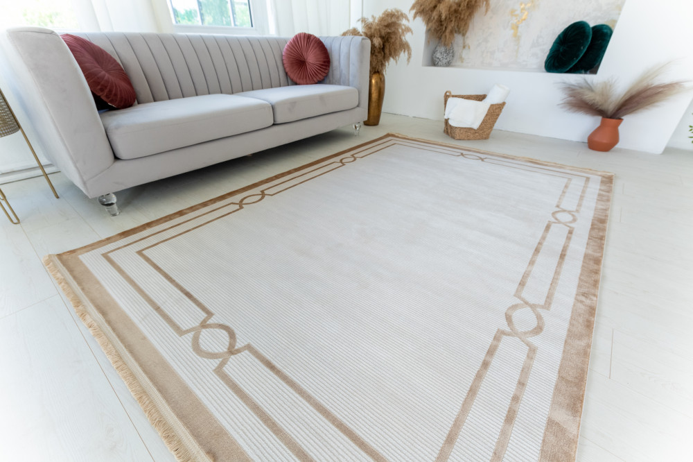 Mabel Art beige modern szőnyeg 200x290cm