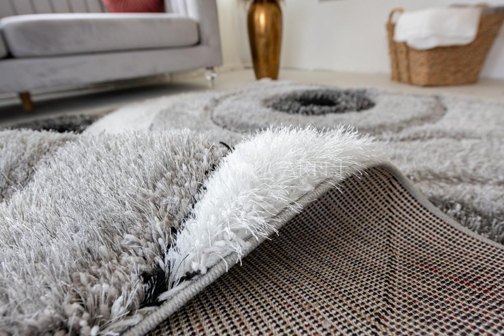 Pure Luxury 3d Jakarta Gray white szőnyeg 200x290cm