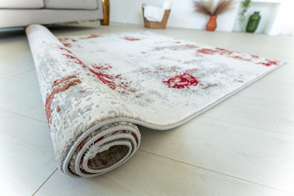 Venita Art modern Beige Red szőnyeg 200x290cm