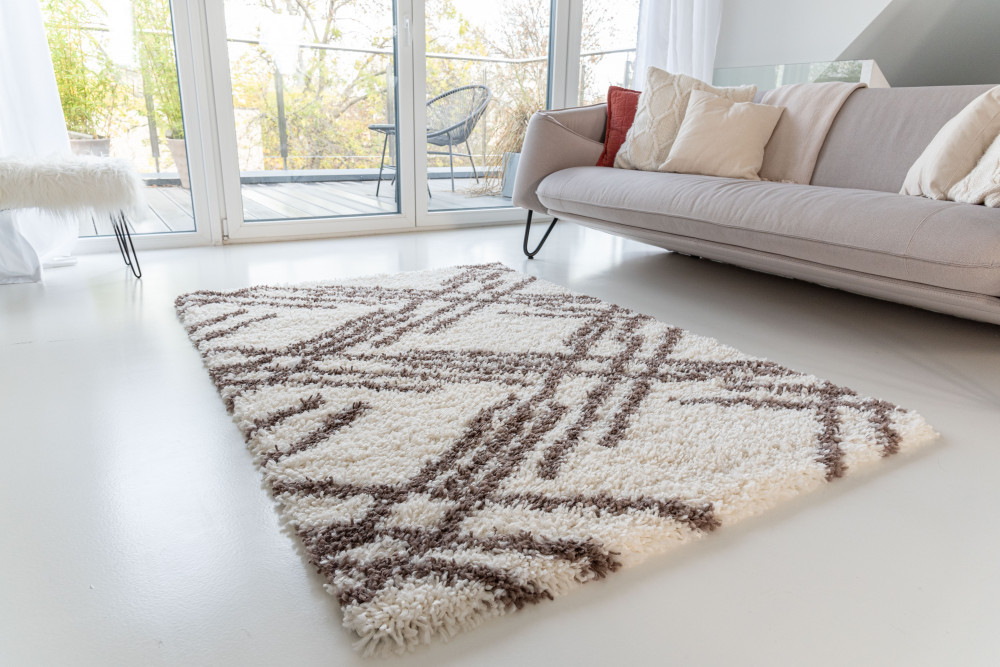 Berber Luxury 5040 brown-cream (barna-krém) szőnyeg 120x170cm