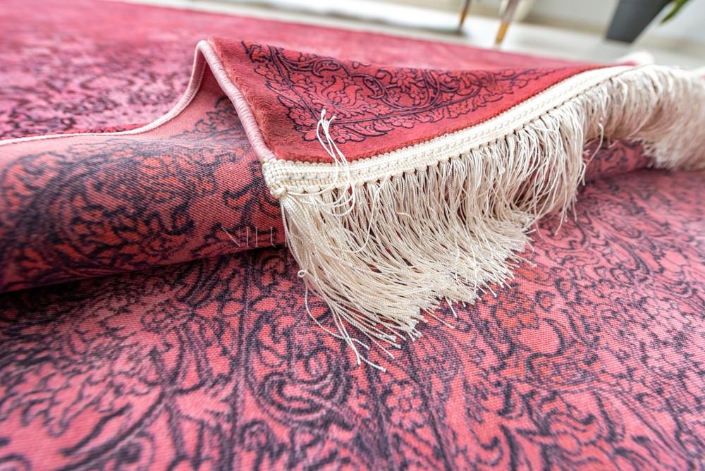Exkluzív Perzsa Art Kashmir Pink (rózsaszín) szőnyeg 150x225cm