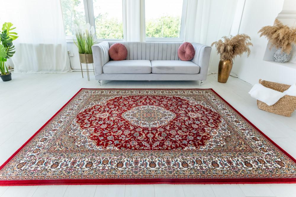 Medalion Luxury Red (bordó) Klasszikus szőnyeg 160x230cm