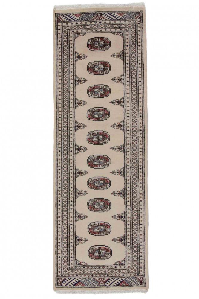 Mauri kézi csomózású perzsa futószőnyeg 62x185cm