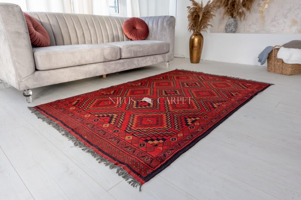 Kézi csomózású perzsa szőnyeg 191x120cm