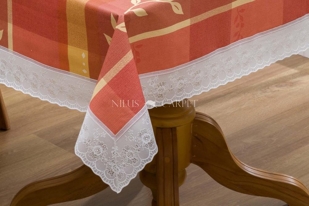 Ariana tera virágos lemosható asztalterítő 122x152cm