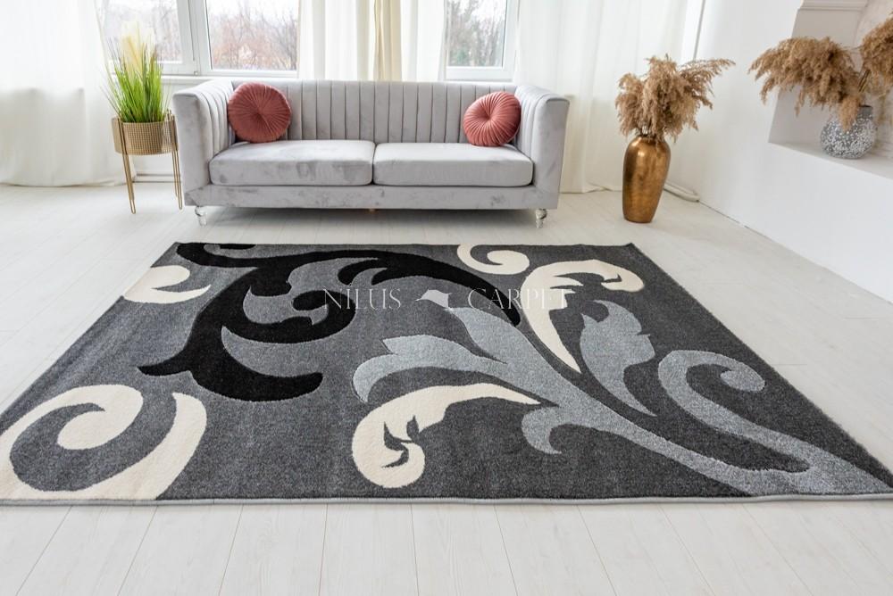 Charizma Inda Gray (szürke) szőnyeg 60x220cm