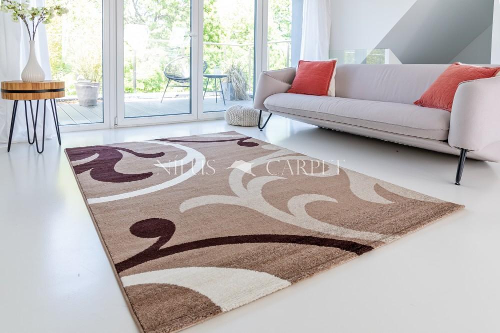 Charizma Inda Beige (bézs) inda mintás szőnyeg 80x250cm