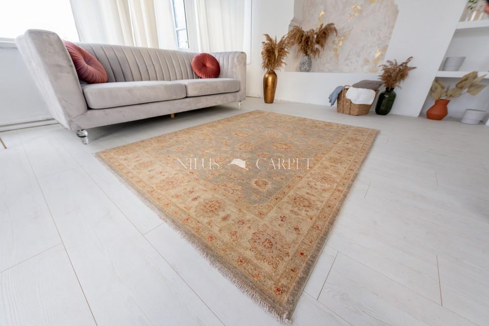 Kézi csomózású perzsa szőnyeg Ziegler, chobi 200x152cm
