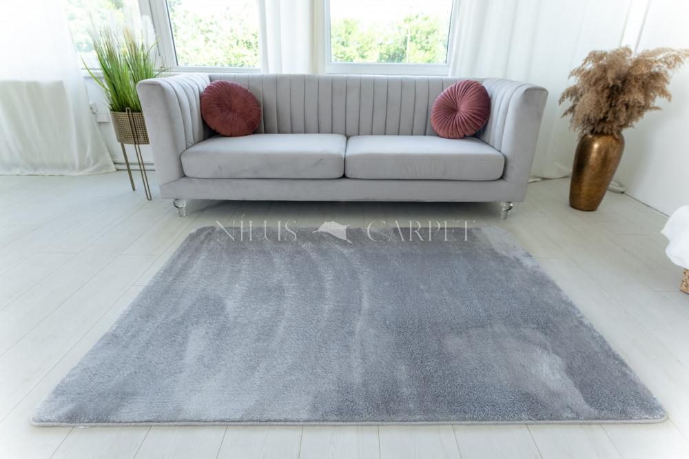 Damaskus plüss shaggy Light gray 120x170cm