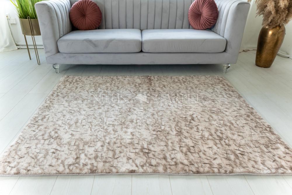 Damaskus plüss shaggy 83 beige 40x70cm