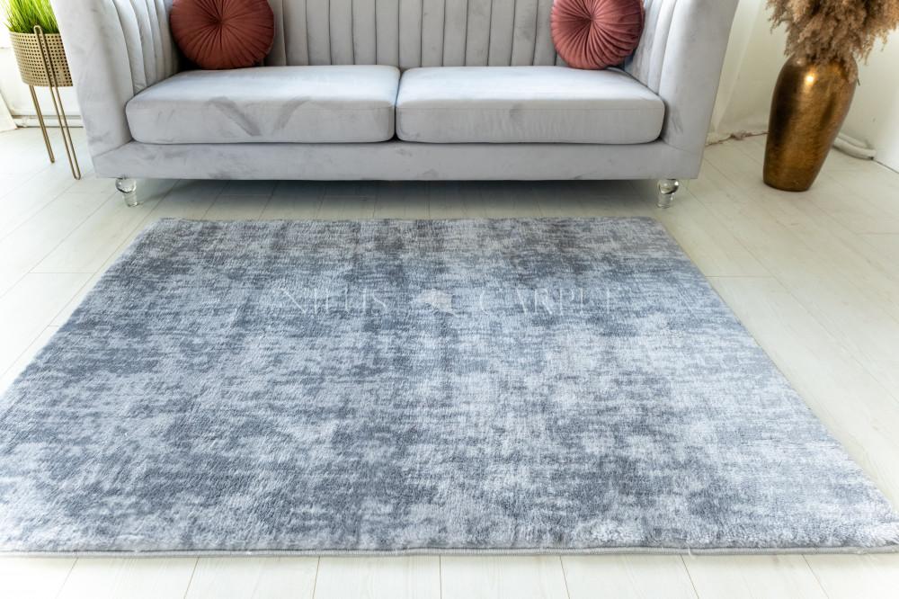 Damaskus plüss shaggy 81 light gray 60x110cm
