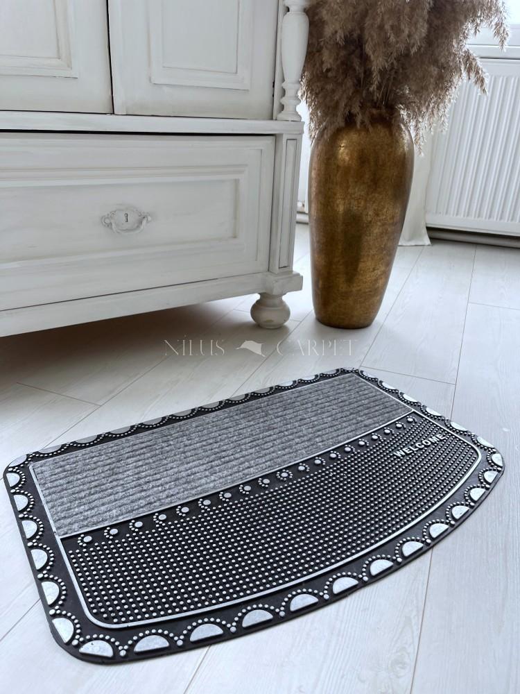 Extra silver kis talpas gumis lábtörlő 45x75cm