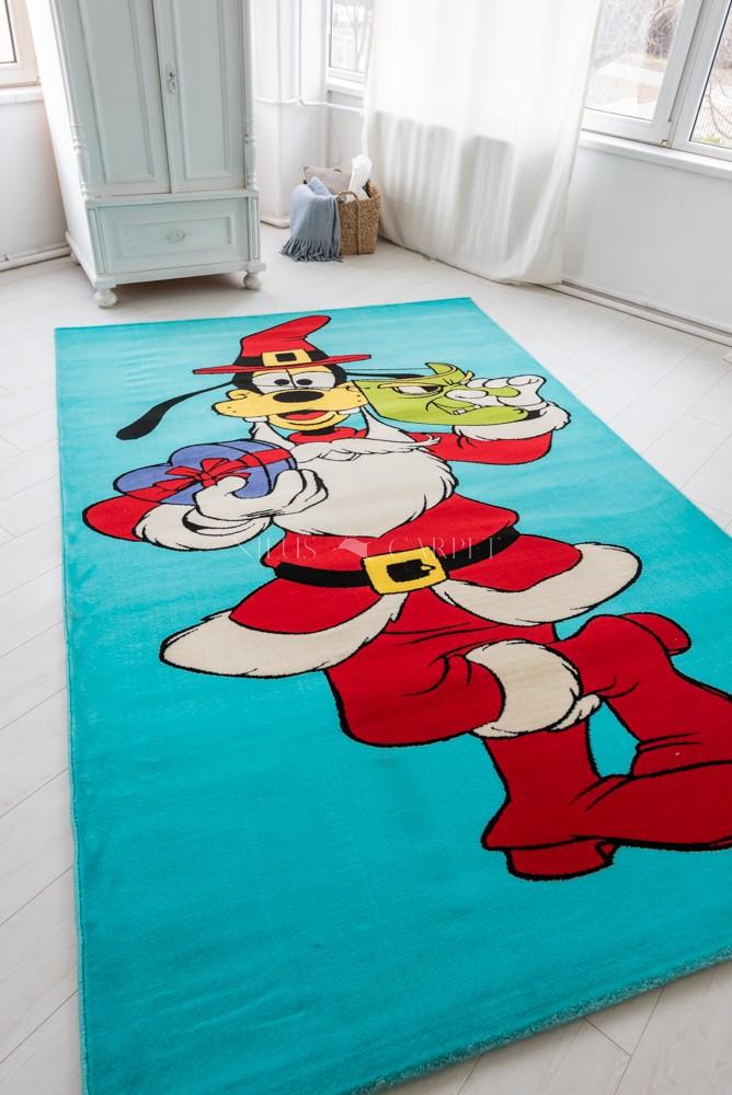 Gyerek szőnyeg Santa Goffy Blue szőnyeg 200x300cm