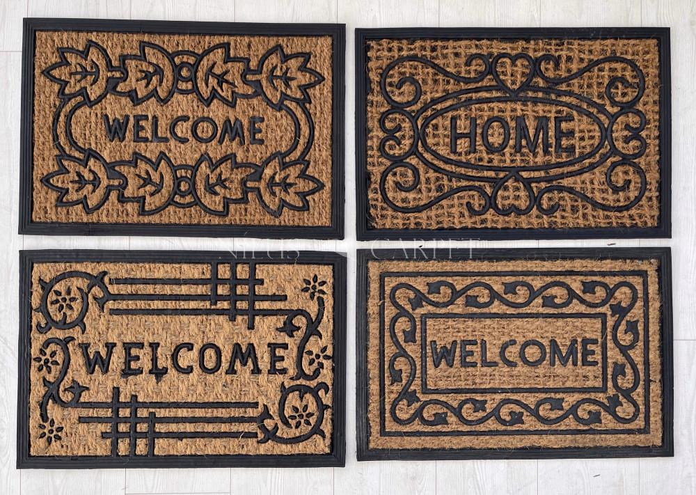 Kókuszrost Gumis Welcome lábtörlő 40x60cm