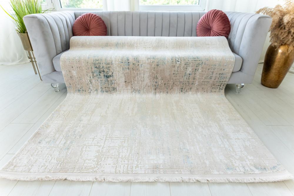 La Perla Art beige modern szőnyeg 120x180cm