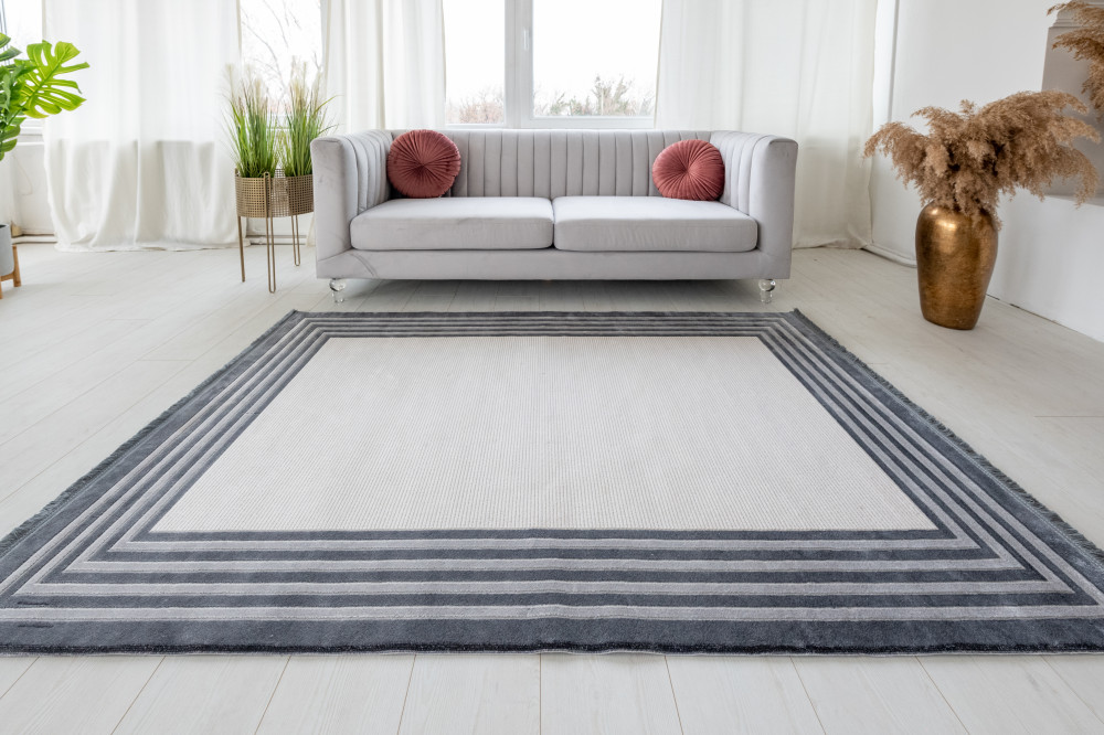 Mabel Art Gray modern szőnyeg 125x200cm