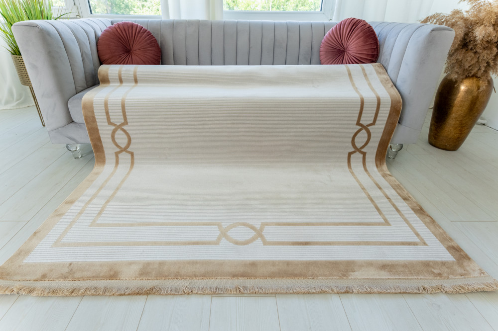 Mabel Art beige modern szőnyeg 165x230cm