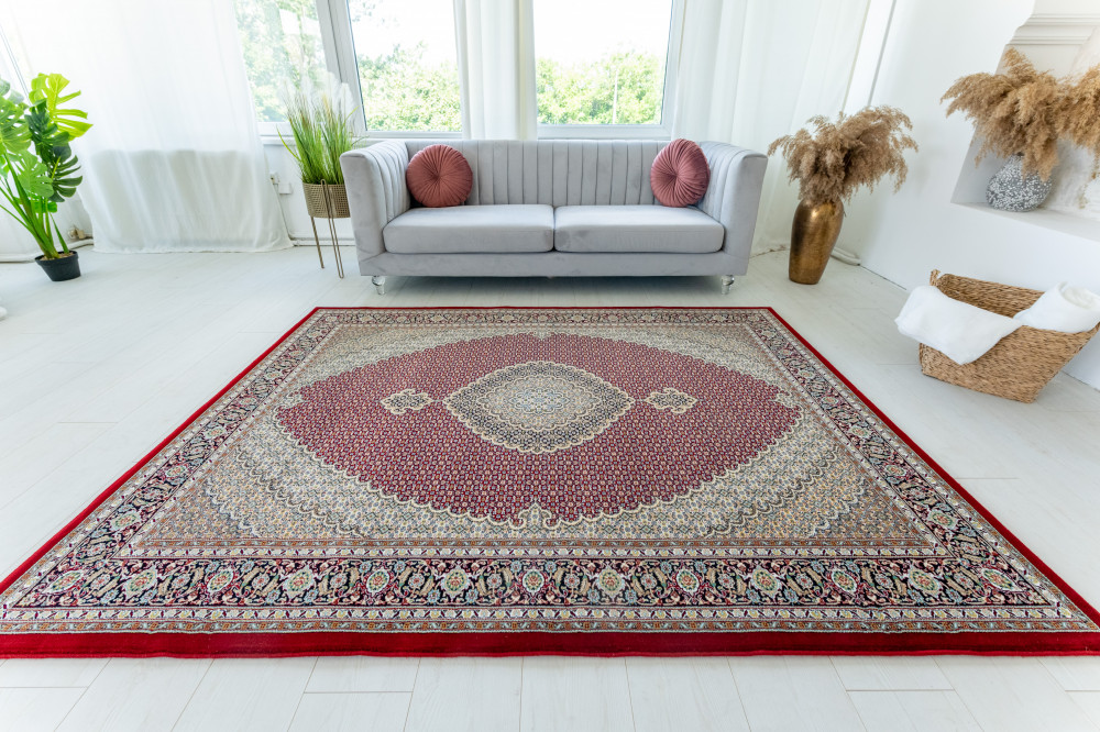 Mahi Luxury Red  (bordó) Klasszikus szőnyeg 140x200cm