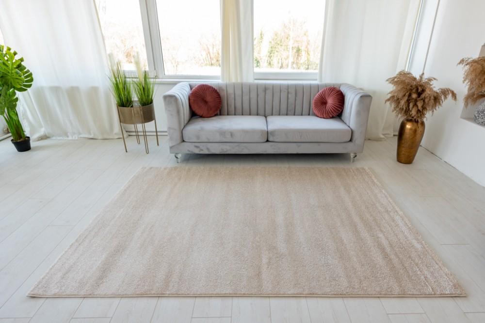 Trend egyszínű cream (krém) szőnyeg 40x70cm