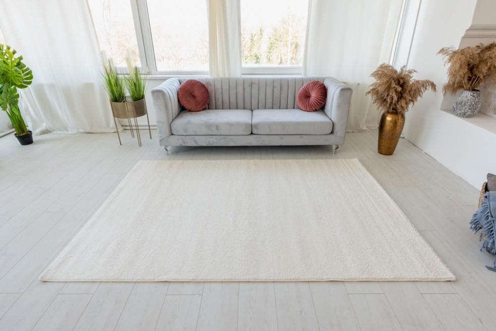Trend egyszínű szőnyeg (White) 160x230cm Fehér
