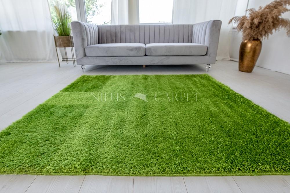 Natty Shaggy Green Carpet (zöld) szőnyeg 50x80cm