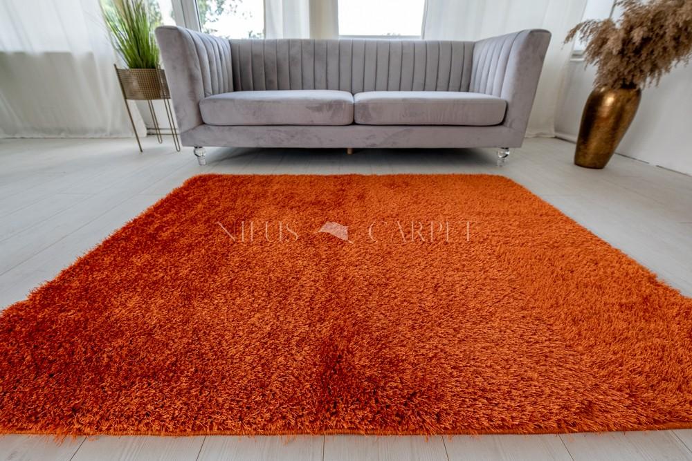Natty Shaggy Orange Carpet (narancs) szőnyeg 50x80cm