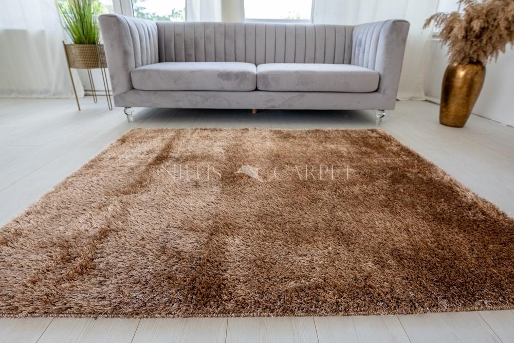 Natty Shaggy Camel Carpet (bézs-barna) szőnyeg 50x80cm