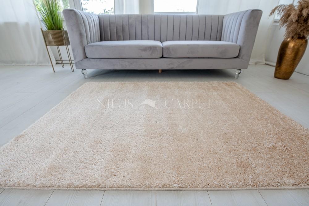 Natty Shaggy Cream Carpet (krém) szőnyeg 50x80cm