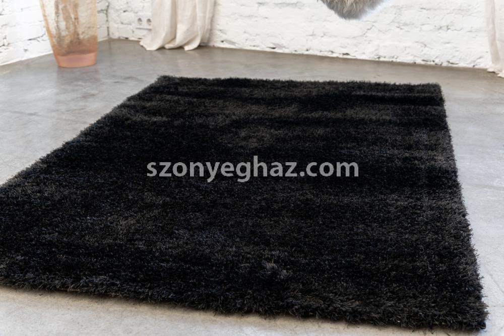 Super shaggy szőnyeg black (fekete) 200x280cm