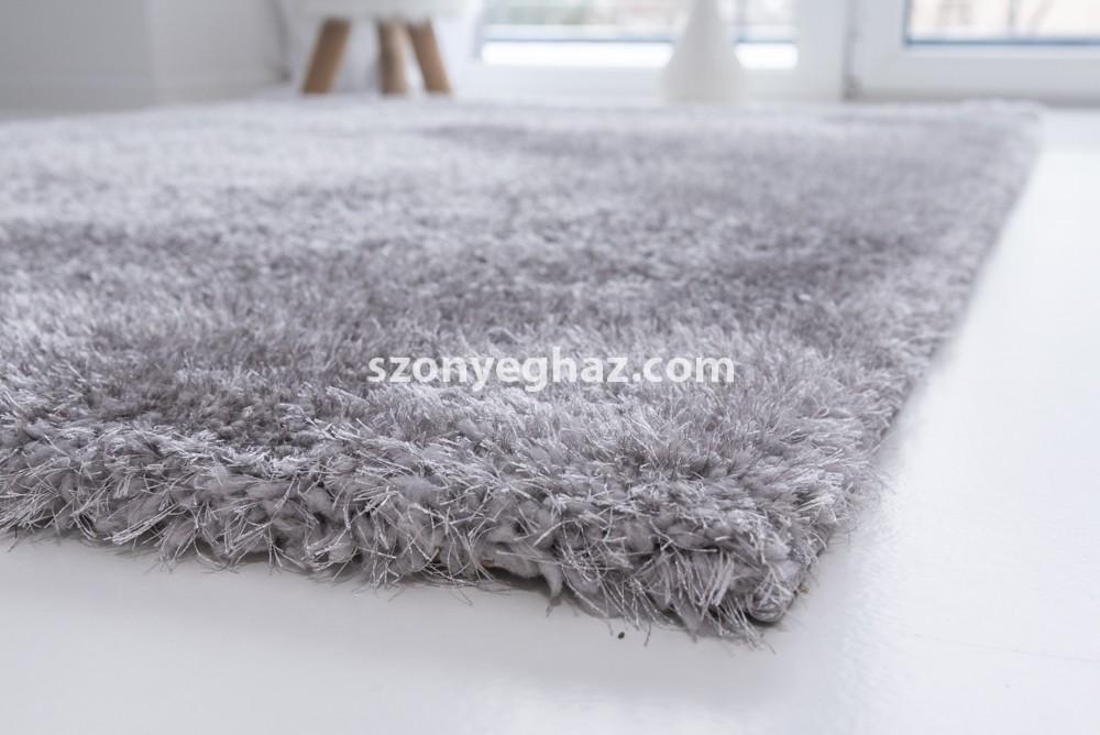 Super light gray shaggy szőnyeg 60x220cm