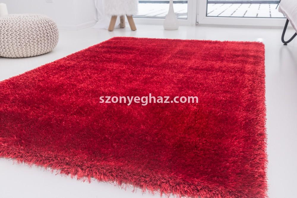 Super red (piros) shaggy szőnyeg 80x150cm
