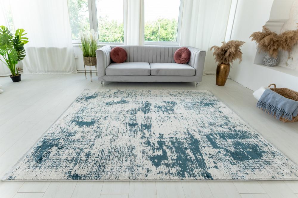 Venita Art modern Blue Gray szőnyeg 200x290cm