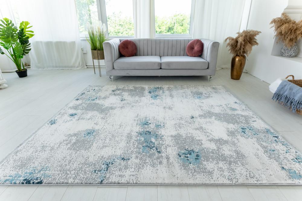 Venita Art modern Gray Blue szőnyeg 160x230cm