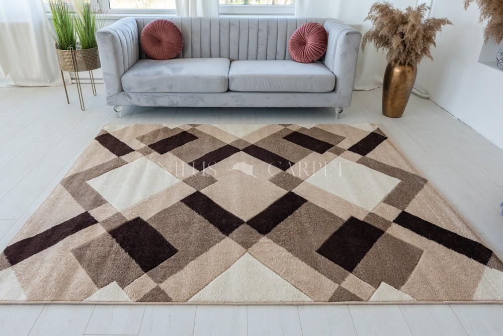 Art Viola 237 Caramel bézs szőnyeg 200x280cm Karamell-Bézs