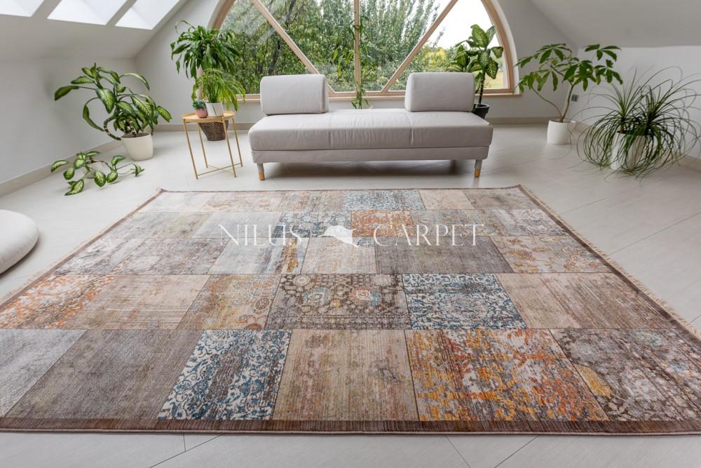 Ziegler Chobi Patchwork brown multicolour szőnyeg 120x170cm