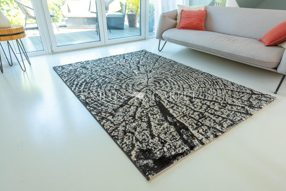 Art Miray 635 black (fekete) szőnyeg 60x110cm