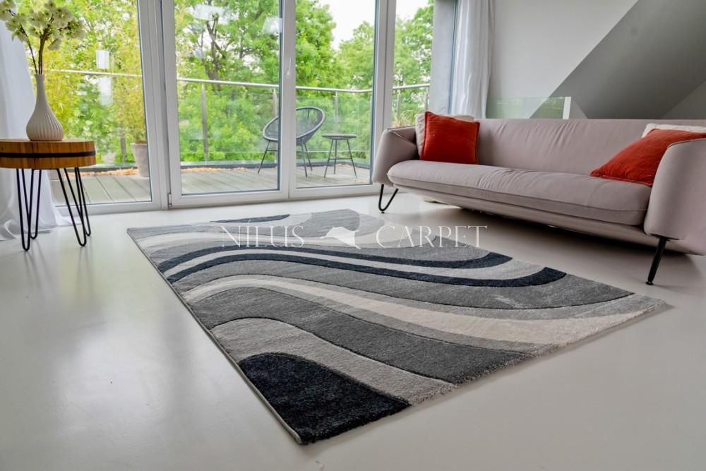 Charlotte 0439 gray (szürke) szőnyeg 160x230cm
