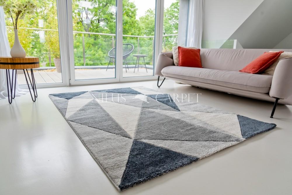 Charlotte 0444 gray (szürke) szőnyeg 80x150cm