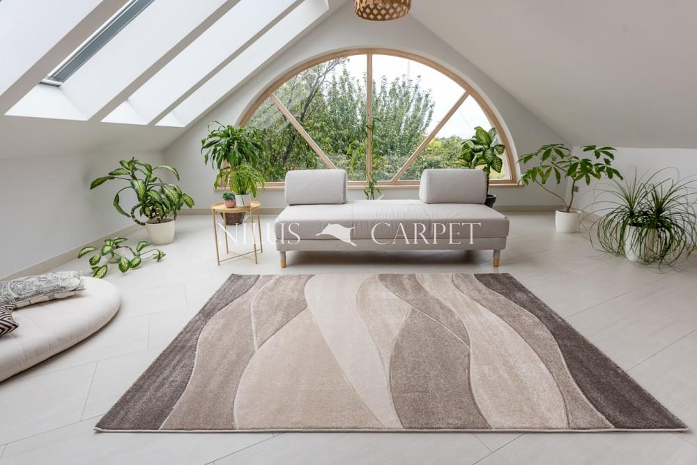 Charlotte 1220 beige-cream (bézs-krém) szőnyeg 60x220cm