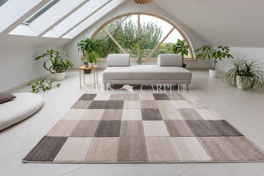 Charlotte 440 beige-cream (bézs-krém) szőnyeg 60x110cm