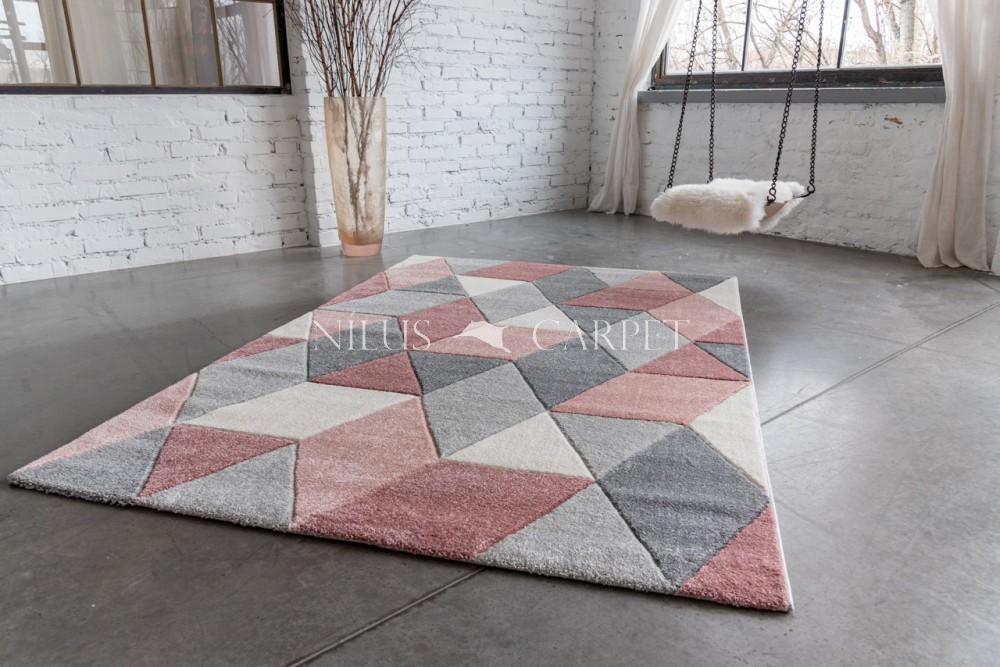 Charlotte 8797 puder-gray (puder-szürke) szőnyeg 60x110cm