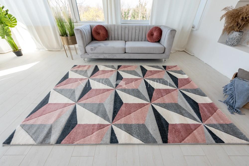 Charlotte 2398 Puder-gray (Puder-szürke) szőnyeg 60x220cm