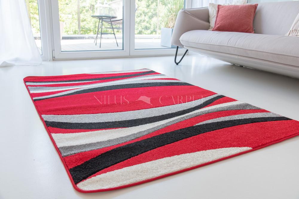 Comfort 4784 black-red (fekete-piros) 60x220cm