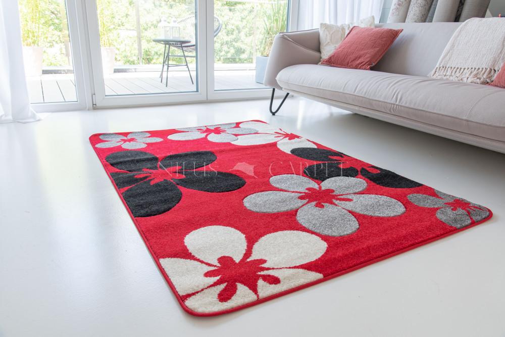 Comfort 4808 black-red (fekete-piros) 60x220cm