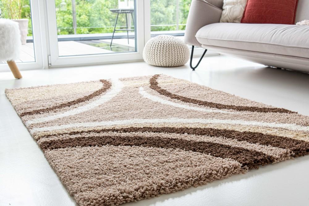 Design Shaggy 08 light beige (bézs) szőnyeg 60xszett